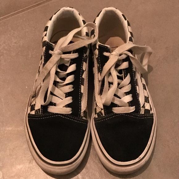 vans shoes size 2